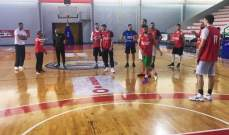 تصفيات كأس العالم في كرة السلة: منتخب لبنان يواصل استعداداته لمواجهة سوريا