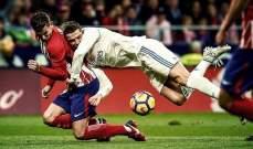 برشلونة المستفيد الاكبر من تعادل الريال والاتلتيكو في الديربي