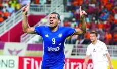 النصر الإماراتي يعيد تسجيل البرازيلي فاندرلي في قائمته