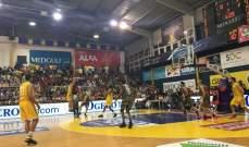 الرياضي بيروت  بطل لبنان لكرة السلة  بعد قلب الطاولة على الهومنتمن
