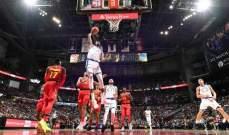 NBA:  تورنتو يخفف ضغط واشنطن على كليفلاند وفوز جديد للواريرز