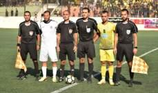 مشاهدات من مباراة التضامن صور والعهد في الدوري اللبناني