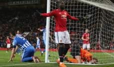 الشياطين الحمر يتقدمون في كأس الاتحاد بعد تخطي برايتون بشق الانفس