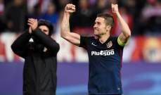 رسمياً : اتلتيكو مدريد يجدد عقد قائد الفريق غابي