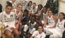 سيدات الرياضي تحققن الانتصار الثاني المتتالي في بطولة اوروبا الشرقية
