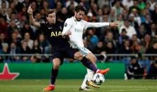 ما هي اهم احصائيات مباراة ريال مدريد وتوتنهام؟