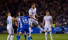 تقييم لاعبي نادي ريال مدريد بعد مباراة ديبورتيفو لاكورونيا