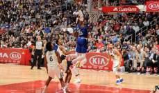 NBA : غولدن ستايت وريورز يفوز على لوس انجليس كليبرز