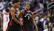 NBA : تورنتو يبتعد في الوصافة شرقياً بعد سقوط كليفلاند