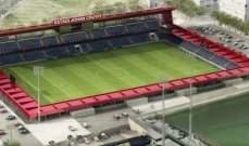 برشلونة يضع حجر اساس لملعبه الجديد