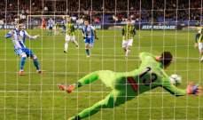 اسبانيول يخطف نقطة ثمينة بتعادله امام ديبورتيفو لاكورونا في الليغا