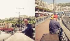 نيكي لاودا يراقب الحصة الثالثة في موناكو عن كثب