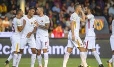 روما يفوز بسهولة تامة على بينيفنتو تحضيرا لمواجهة أودينيزي