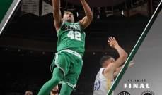 بوسطن يحتفل بالفوز ال 14 المتتالي في NBA