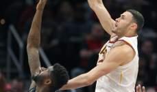 NBA: ليبروين جايمس يمنح الفوز لكليفلاند على ديترويت