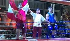 خاص: فراس عيد يهدي لبنان ذهبية في بطولة العالم للتاي بوكسينغ ويوسف عبود يكسب ميدالية وطنية