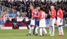 موناكو يتعثر امام مونبلييه  و انتصارات لكل من نيس و ليل و بوردو