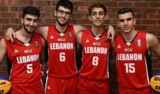 كأس اسيا لكرة السلة 3x3 :لبنان يفوز في الذكور ويخسر عند الاناث