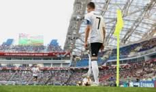حالات تحكيمية من مباراة المانيا وكاميرون