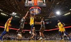 NBA : دورانت يقود غولدن ستايت الى الفوز على سان انطونيو بمباراة مجنونة