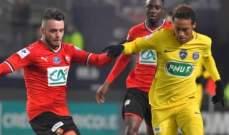 كأس الرابطة الفرنسية: الـ بي أس جي يعبر للنهائي بعد مباراة مثيرة امام رين