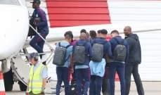مانشستر سيتي يغادر الى برايتون بطائرة خاصة