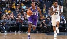 NBA : سكرامنتو يتلقى الخسارة السابعة على التوالي
