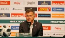 مدرب المكسيك يؤكد صعوبة اللقاء امام منتخب ايسلندا