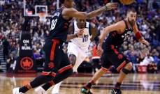 NBA : الواريرز يسقط بغياب نجومه وتورنتو يعزز صدارته