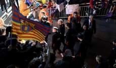 برشلونة يتدرب امام الجماهير قبل مواجهة ليفانتي