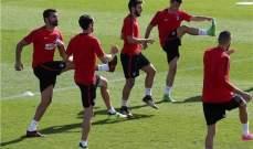 اتلتيكو مدريد يستعد لمواجهة سيلتا فيغو بغياب كوكي