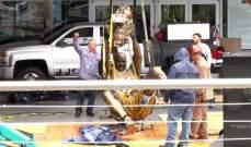 الكشف عن تمثال لشاكيل اونيل مع الليكرز