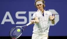 الكسندر زفيريف يتقدم في بطولة أستراليا المفتوحة