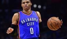 NBA: الواريرز يرد الهدية للروكتس وويستبروك يعود لعادته القديمة
