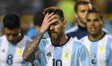 رئيس الاتحاد الارجنتيني لميسي: شارك اقل في المباريات مع برشلونة