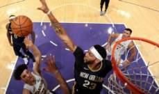 NBA : لوس انجلوس ليكرز يسقط للمرة الثانية هذا الموسم