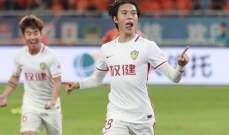 ايقاف افضل لاعب صيني 9 اشهر