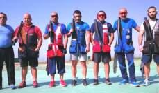 رماية: فياض كامل بطل المرحلة السادسة من بطولة لبنان للتراب الفئة(أ)