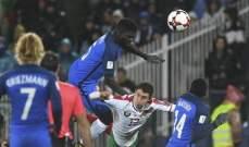 حالات تحكيمية من مباراة فرنسا - بلغاريا