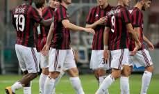 ابرز احصاءات مباراة ميلان وسكنديا في الدوري الاوروبي