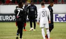 لوكوموتيف موسكو يبلغ ثمن نهائي الدوري الاوروبي بفوزه على نيس الفرنسي