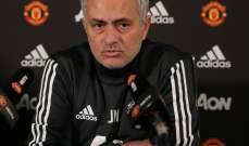 مورينيو : من عانى مع ريال مدريد لن يستسلم مع مان يونايتد