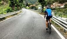 فالتيري بوتاس على الدراجة الهوائية