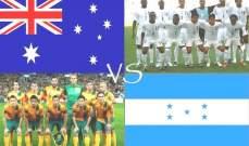 رسميا : أستراليا تواجه هندوراس بملحق تصفيات كأس العالم