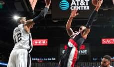 NBA: الروكتس يسحق الليكرز والسبيرز يسقط امام بورتلاند