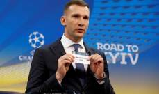 شيفتشينكو : ريال و السيتي الاقرب الى لقب دوري الابطال ولكن ...