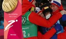 النروج تكمل التألق وتخطف ذهبية جديدة في اولمبياد بيونغ تشانغ 2018