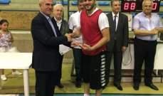 مباراة ودية في كرة السلة بين قدامى اللاعبين وانيبال