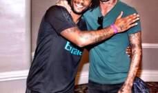 مارسيلو وبايل سعيدان بزيارة بيكهام للفريق المدريدي في اميركا