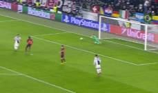 تير شتيغن ينقذ مرمى برشلونة في الدقائق الاخيرة من مباراة يوفنتوس